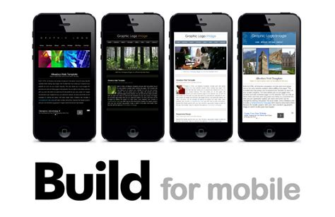 Html Web Templates For Developers Mobile Friendly Html Template