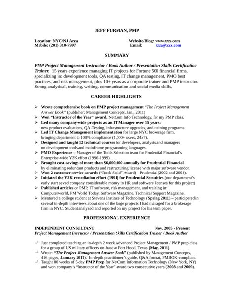 trainer resume sle pdf 12 sle corporate trainer resume book