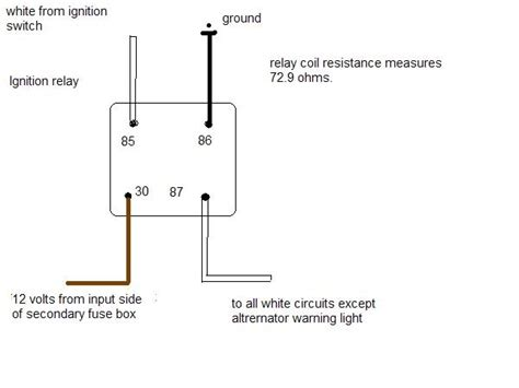 ignition relay wiring diagram wiring diagram and