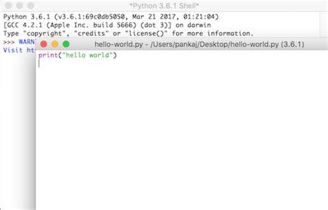 tutorial python shell python tutorial for beginners journaldev