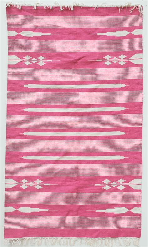 pink dhurrie rug aztec gum pink dhurrie rug mahout lifestyle