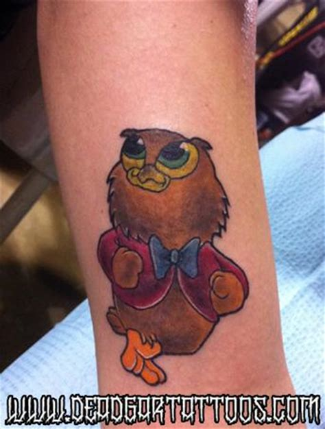 tattoos cartoon did deadgar tattoos tattoos cartoon owl jolsen