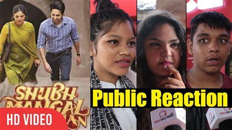 videos bhumi pednekar videos trailers photos videos shubh mangal savdhan trailer public reaction ayushmann