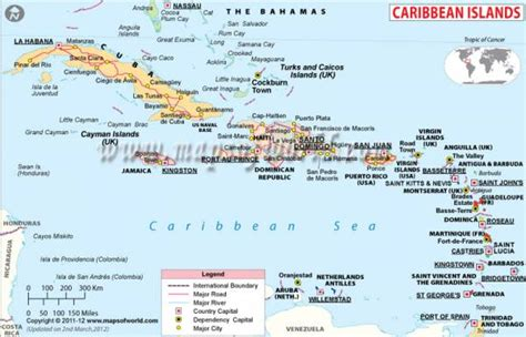 map of the caribbean islands map of caribbean map travel holidaymapq