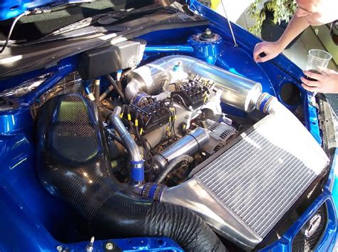 subaru wrc engine under the hood of an 06 impreza sti wrc nasioc