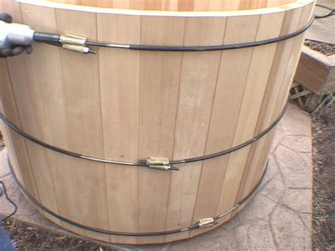 how to build a wooden bathtub pdf how to build wood hot tub plans free