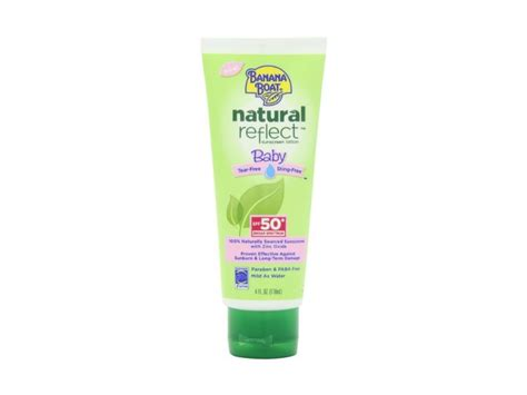 banana boat sensitive ingredients banana boat natural reflect baby sunscreen lotion spf 50