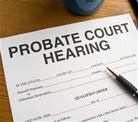 Probate Court Records Probate Court