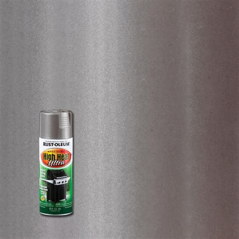 rust oleum specialty 12 oz silver high heat ultra spray paint 6 pack 270201 the home depot