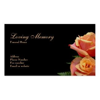 funeral home business card templates funeral home business cards templates zazzle