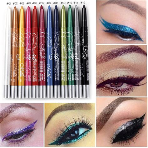 Sale Pensil Eyeliner Gliter Me Now Serut aliexpress buy 2017 menow professional makeup eye shadow waterproof glitter eyeshadow