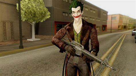 Modification Origins by Gta San Andreas Batman Arkham Origins Joker Mod