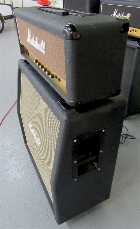 marshall jcm 800 4x12 cabinet marshall half stack w jcm 800 2203 100w mk 2 4x12