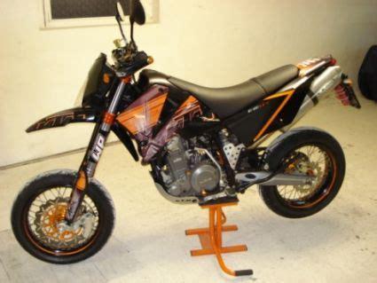 Ktm Motorrad Typen by Umgebautes Motorrad Ktm 640 Lc4 Supermoto Vom Typ