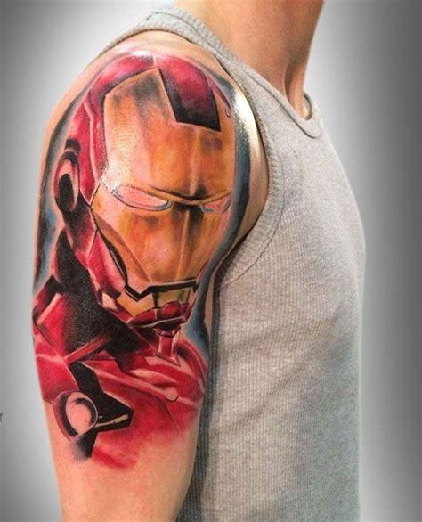 ironman tattoos designs ideas marvel dc