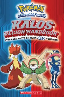 the literature book big 0241015464 pokemon kalos region handbook by scholastic editorial paperback book the parent store