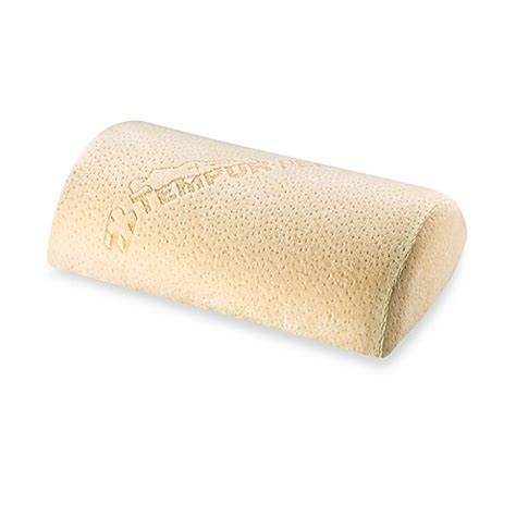 bed bath beyond tempurpedic pillow tempur pedic 174 universal lumbar support cushion in home