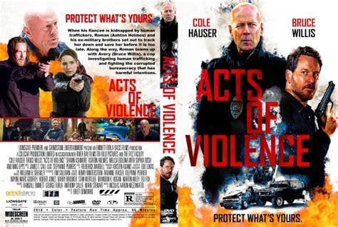 Acts Of Violence 2018 Original acts of violence dvd covers labels by covercity