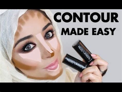 tutorial makeup zukreat how to contour easy step by step contouring tutorial