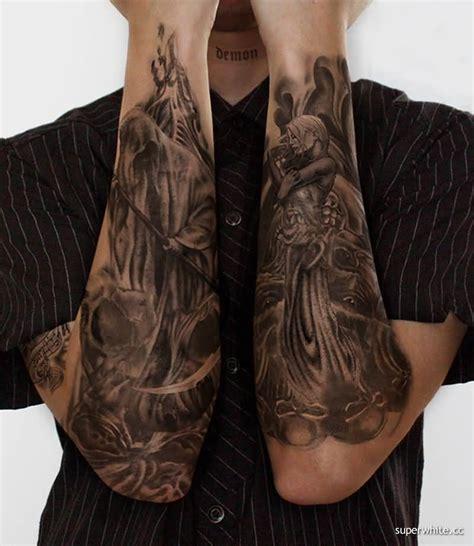 evil tattoo sleeve designs 75 wonderful evil tattoos