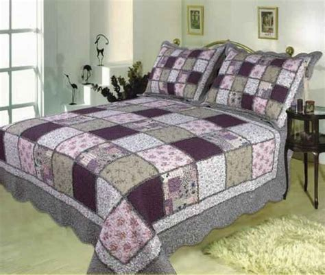 Size Patchwork Quilt - buy sugar plum handmade quilt with bold patchwork design