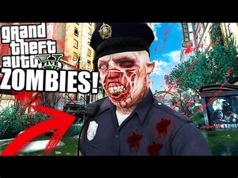 zombie policia !! gta zombie apocalipse cap 5 la ciudad