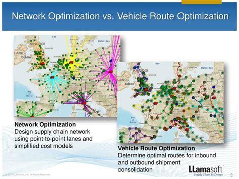 network layout optimization ppt transportation guru vehicle route optimization
