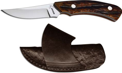 cowboy knife sheath boker cowboy crossdraw 02bo516 knife brown bone handle