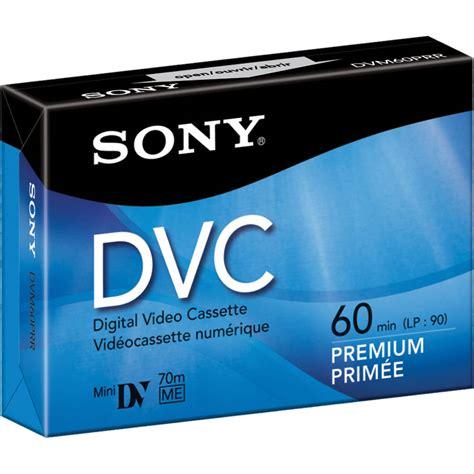 dv cassette sony dvm 60pr premium mini dv cassette 60 minute