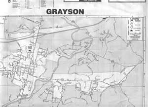 map of grayson county maps map links and aerial photos
