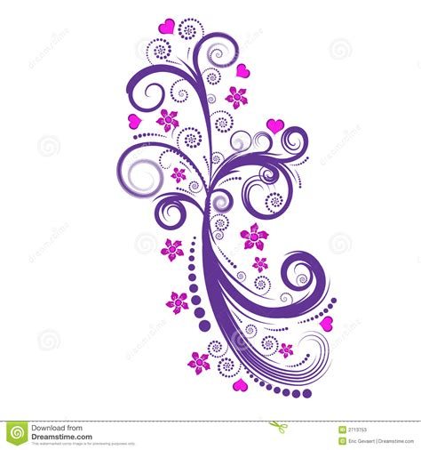 beautiful design beautiful vector flower design stock photos image 2713753