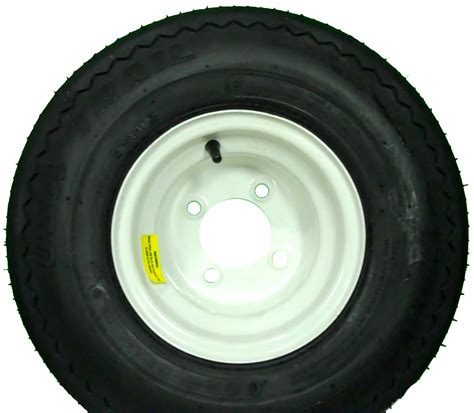 used boat trailer tires and wheels 18 5x8 5 8 carlisle usa trail trailer tire and wheel 4 lug