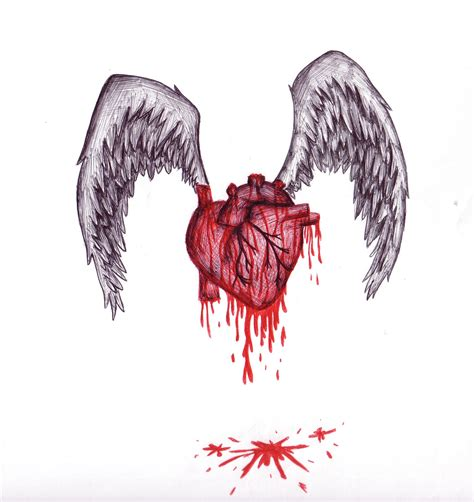 bleeding heart by seffy340 on deviantart