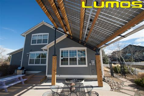 solar awnings lumos lsx patio awnings solar canopy contemporary
