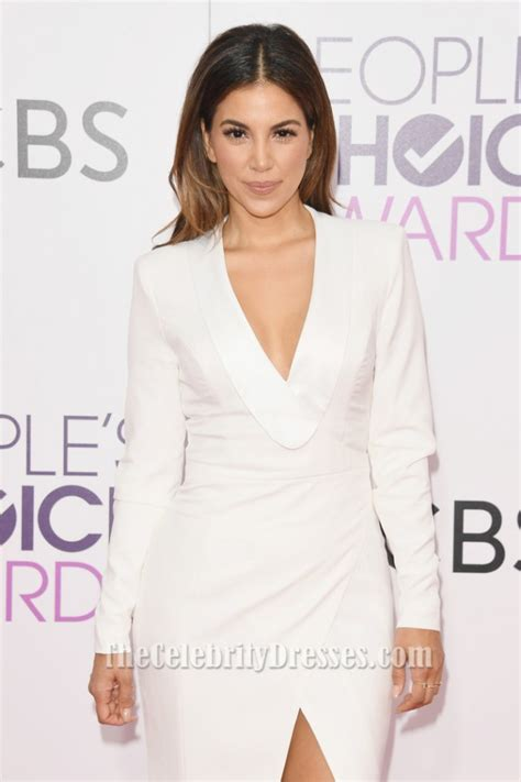 Liz Hernandez People's Choice Awards 2017 White Long