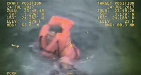 video fishing boat captain saves crewman s life in frigid - Alaska Fishing Boat Captain Saves Crewmen