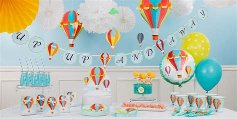 City Baby Shower Centerpieces by Up Away Baby Shower Decorations City