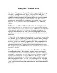 Occupational Therapy Essay by Occupational Therpy