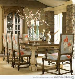 Eclectic Dining Room Chairs 15 rustic dining room designs decoration for house