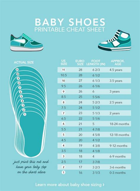 shoe size 1 infant toddler shoe size chart monaylizz bayley francis