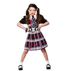 freaky schoolgirl kids costume from a2z kids uk