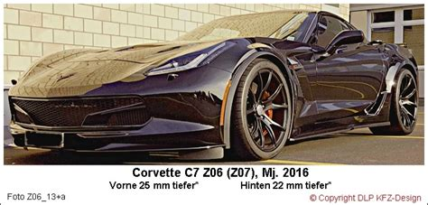 Corvette Z06 Tieferlegen by Corvette Germany De Thema Anzeigen C7 Z06 Z07