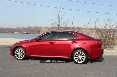 2007 Lexus Is250 Awd by 2007 Lexus Is250 Awd Sedan 4 Door 2 5l Dohc 24 Valve