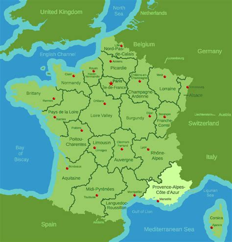 provence france map free printable maps provence france map