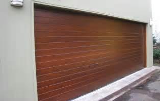 Garage Wood Doors Contemporary Wood Doors Garage Doors And Gates
