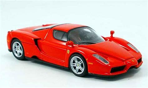 Red Ferrari Enzo by Ferrari Enzo Red Scuderia O Red Kyosho Diecast Model Car 1