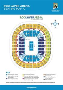 rod laver arena floor plan rod laver arena seating map