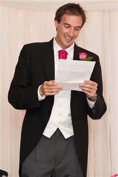 A Master Of Ceremonies (MC)   Wedding Speech Ideas. A