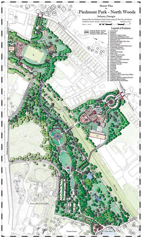 tsw piedmont park north woods master plan