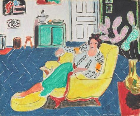 woman in an armchair woman seated in an armchair 1940 henri matisse wikiart org
